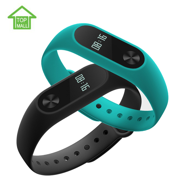 Original Xiaomi Mi Band 2 Smart band OLED display touchpad heart rate monitor Bluetooth 4.0 fitness tracker