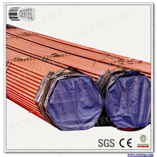 Top API 5L seamless steel pipe manufacturers in China Produce red painted pipe