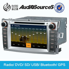 Hot sale car dvd player for toyota corolla verso with gps radio use sd VMCD 10 disks rear camera and DVR
