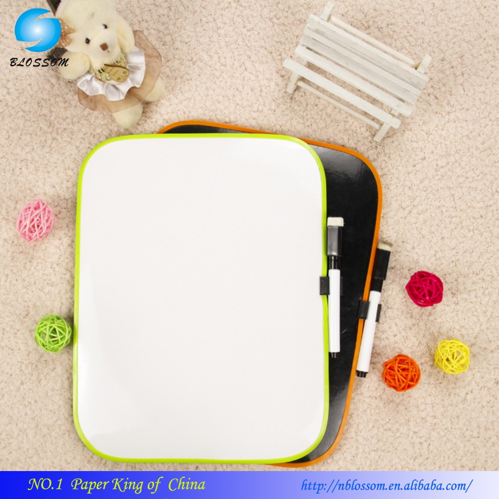 OEM magnetic erasable white board /memo board/drawing board kids education toy