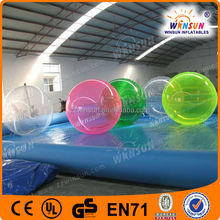 Innovational Hot Selling Popular Summer Playing Inflatable Water Exercise Ball