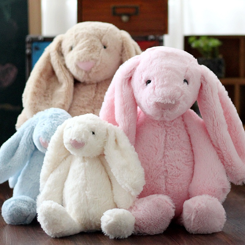 2017 alibaba wholesale pink bunny soft toy rabbit, pink rabbit plush toys on sale