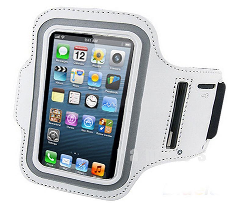 Bracadeira Para Celular Pu Leather Mobile Phone Sports Running ...