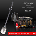 S6 OEM logo retractable mini military shovel