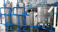 Ro equipment drinking aqua system industrial water treatment