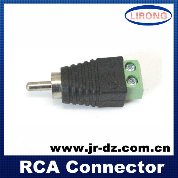 Green connector With Screw 2.1mm x 5.5mm 12v DC Power Male Female Wire Connector,JR-R59-1,2015 HOT SALE