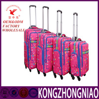 Fashion Design Unique Logo Travel Luggage Kongzhongniao Hot- selling Luggages for women and men