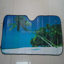Pe Bubble Foldable Car Sunshade Car Sun Shades