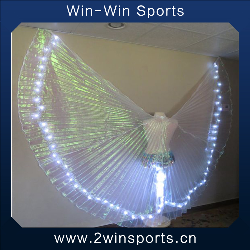 Luminous light up wholesale costume dance wings led wings