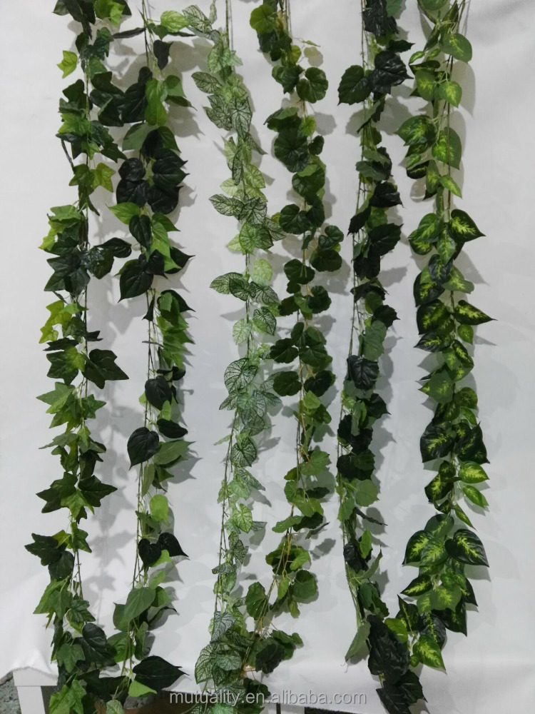 new product 2016 artificial rattan plants artificial plants for wall decoration