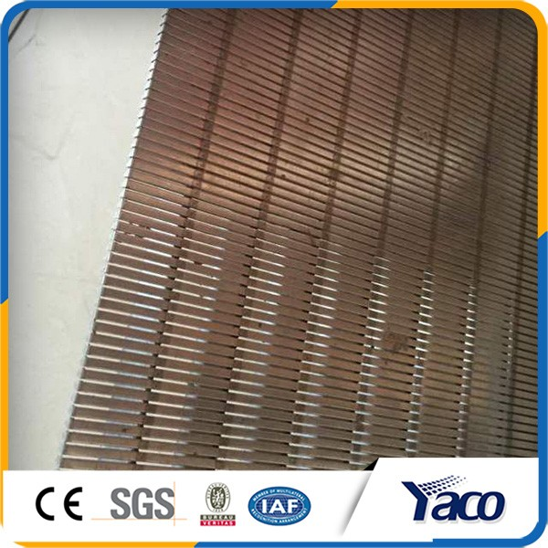 Resistance against acid Rotary Strainer sieve Bend flat Panel