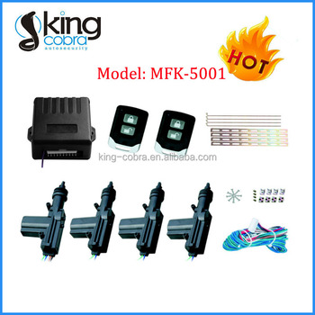 Kingcobra MFK Centrol Locking System for Cars with Remote Control