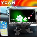 Car pillow tft lcd monitor TM-701H-98 headrest lcd monitor bracket 16:9 3AV AUX input rear view