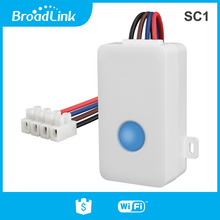Broadlink SC1 Smart Switch WiFi APP 2.4GHz Box Timing Wireless Remote Control 2500W Smart Home Automation Modules
