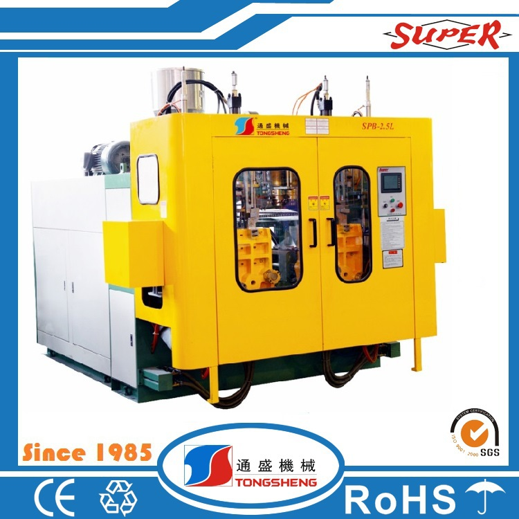 Small HDPE Plastic Bottle blow making mould Machine with Double Station price