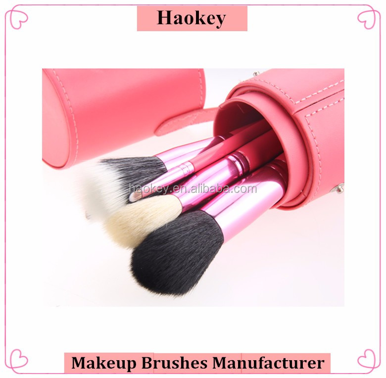 Private Label 12PCS Rose Beauty Makeup Brush For Girl High Quality Makeup Brush Set