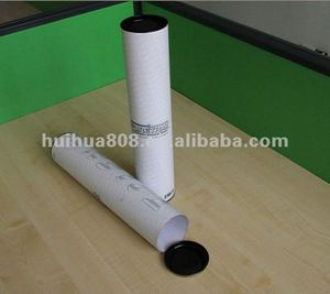mailing tube end caps paper packaging