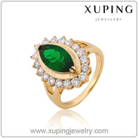 12816-xuping fashion Ring 18k Russia fashion gold jewelry