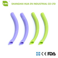 Plastic disposable dental surgical suction tips / surgical evacuation tips