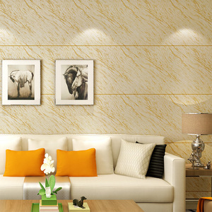 China 3d marble stone designs Hotel wallpaper Home TV background pvc vinyl wall paper in roll