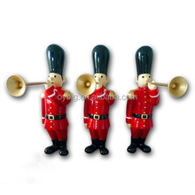 Fibreglass guards Christmas red front door decoration holiday winter decoration