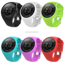 Silicone Replacement Wristband Smart Watch Band for POLAR M200
