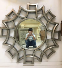 Antique mirror art frame for home decoration