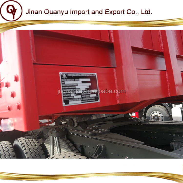 Howo flated truck box body tipper tractor tipper trailer panels