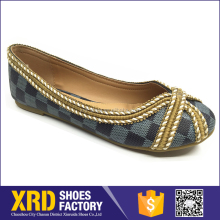 Custom made slip-on small size women shoes