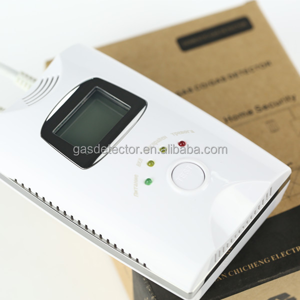 CE Certificate Home usage carbon monoxide gas leak tester for family <strong>security</strong>