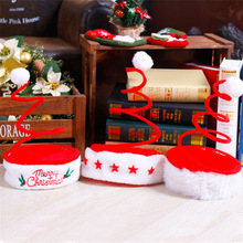 Custom Festival Decoration Printing Christmas Santa Claus Hat for Kids