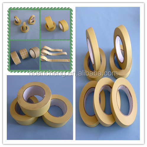 crepe masking tapes for high temperature masking