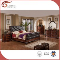 american style elegant high grade bedroom furniture