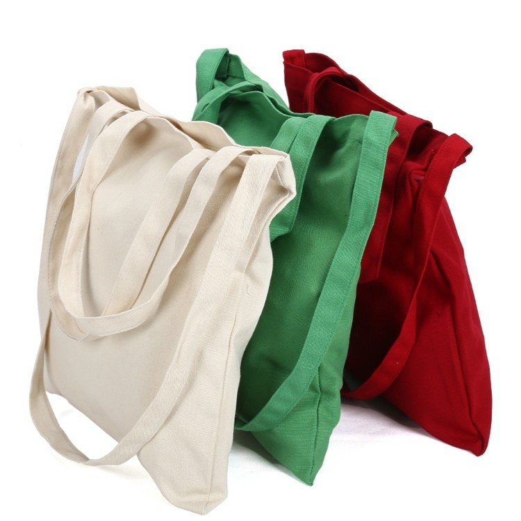 HIT natural high quality new promotional reusable and foldable beach organic 100% azo free embroidery canvas cotton bag