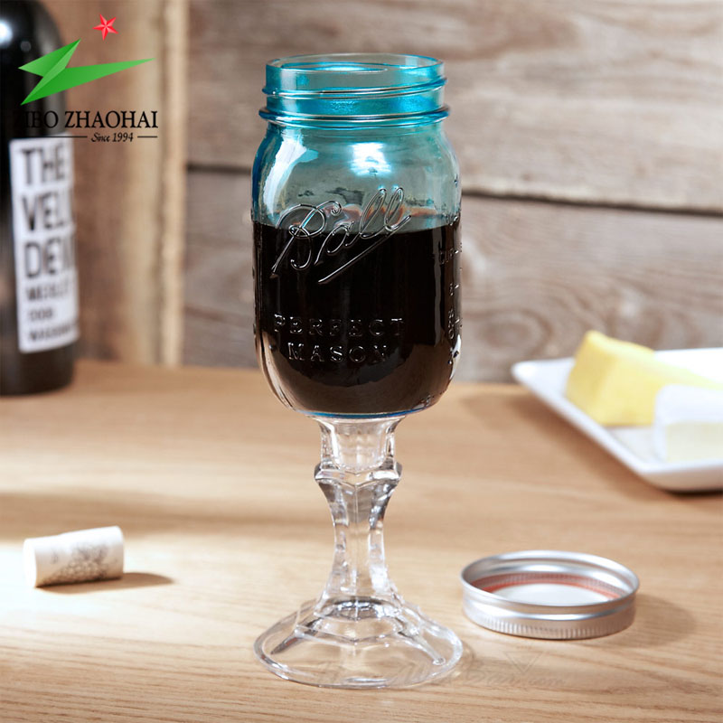 redneck wine glass mason jar wholesalers ZHAOHAI
