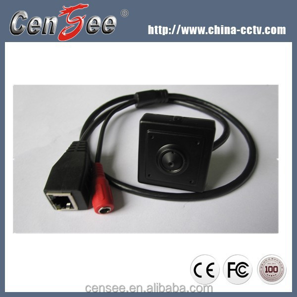 Hisilicon 3518 Pinhole Hidden Micro1.3 Megapixel Indoor 960p Ip Camera