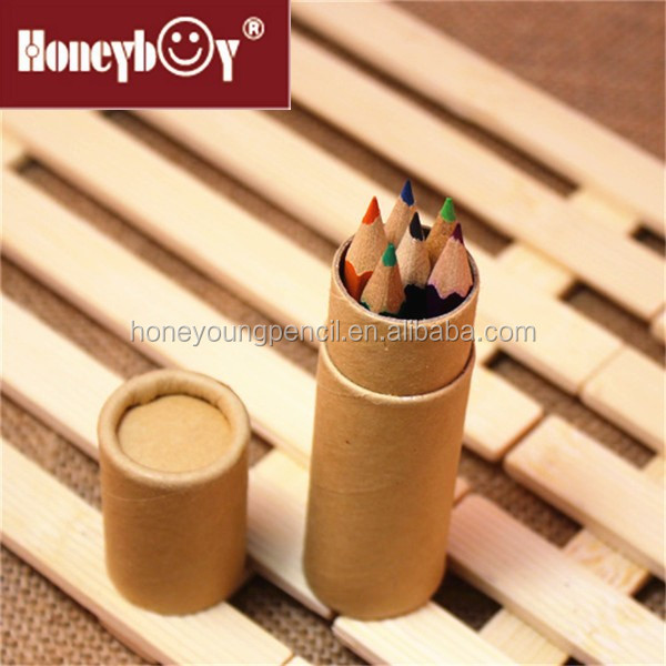 "3.5"" high quality drawing color pencil in paper box"
