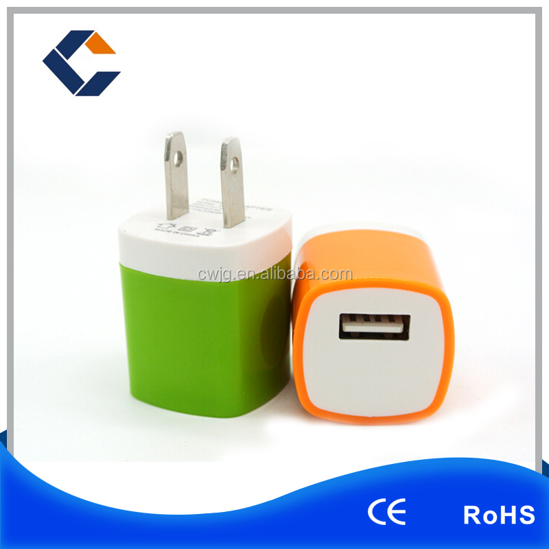 New portable smart high speed uk/us/au micro usb mobile charger