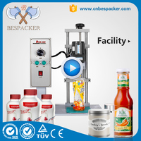 Semi automatic manual plastic bottle capping machine