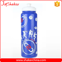 1000ML Custom Logo Gym Plastic Smart Water Bottle Sizes