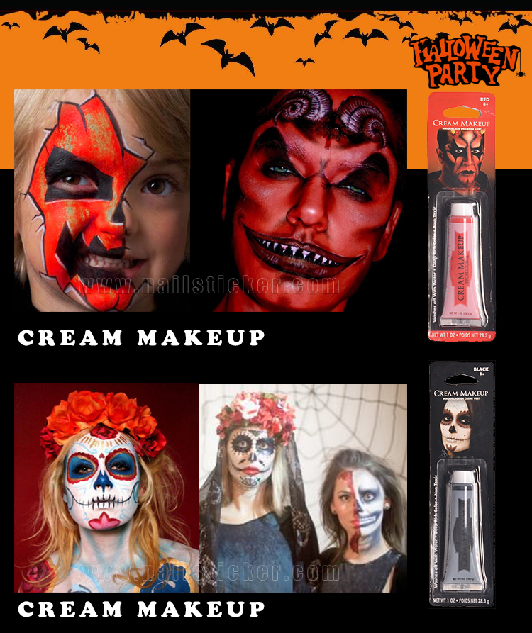 OEM Halloween face special effect blood