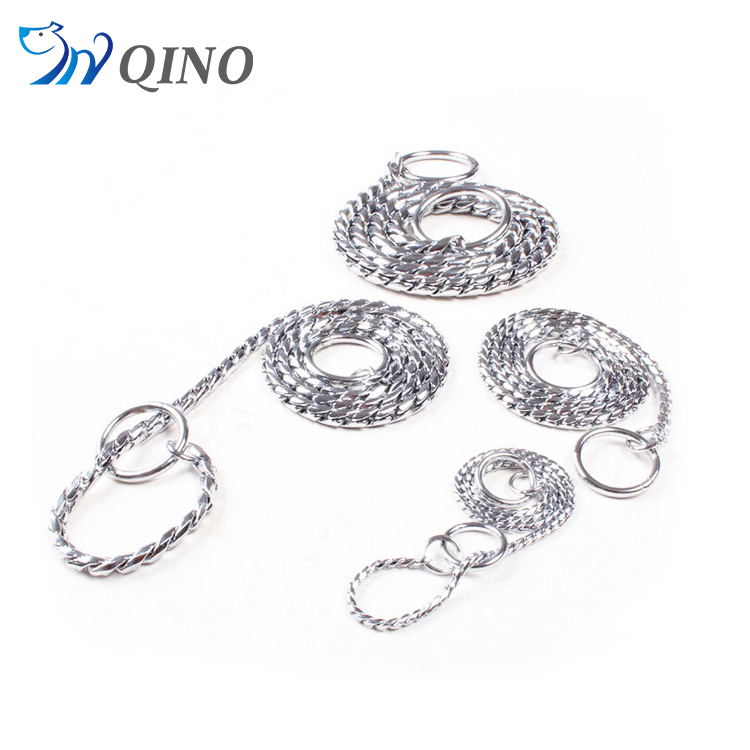 QN-A-3675 dog chain leads collar & leash type pet dog collar