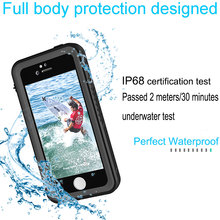 For iphone case waterproof case, phone accessory wholesale, cell phone accessory waterproof phone case for iphone SE/6S /plus/7