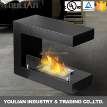 2017 Trendy Product Free Standing Bio Ethanol Fireplace