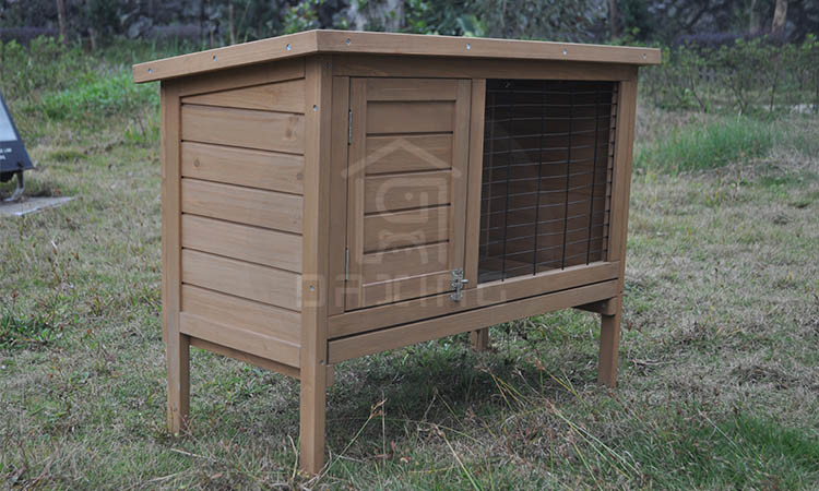 Made in china fir wood portable make a rabbit cage