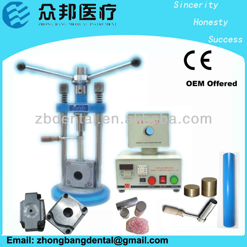 denture making supplies/flexible denture machine /ZB-A