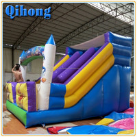 Happy hop outdoor big water slides prices for sale, playground inflatable slide, childrens toys