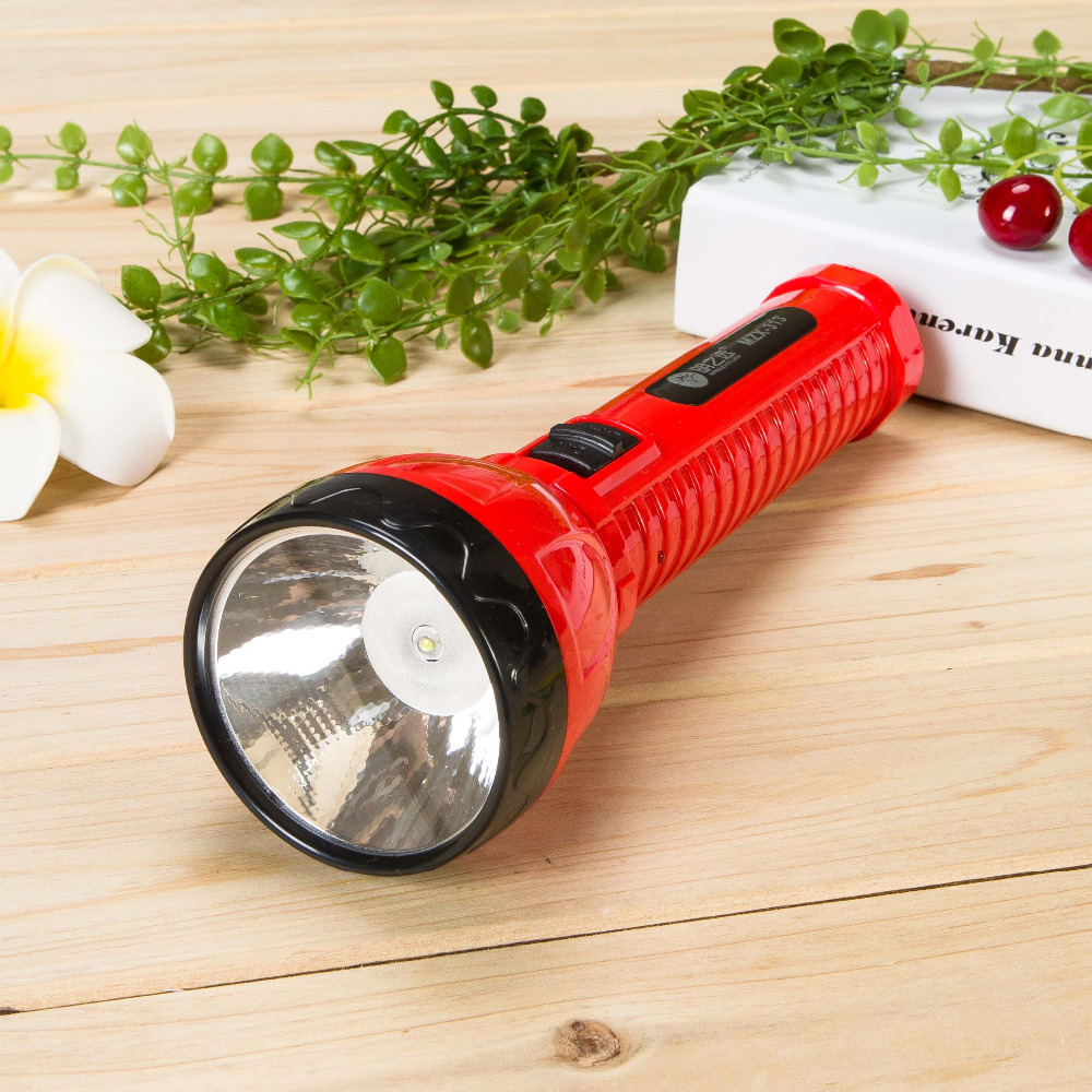 ABS body material strong light LED flashlight