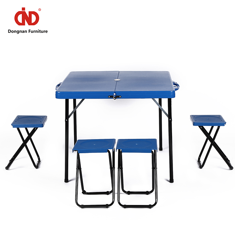 Simple design Eco-friendly Low MOQ intertek folding table&chair