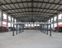 Ready made style low cost prefab light steel structure